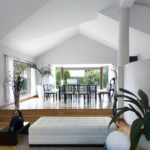 PA Hollingworth's Open plan living space with interior design