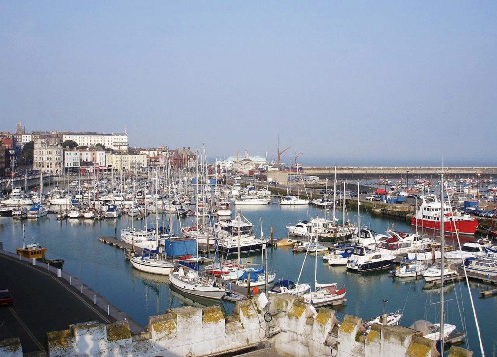 The Marina in Ramsgate, Kent