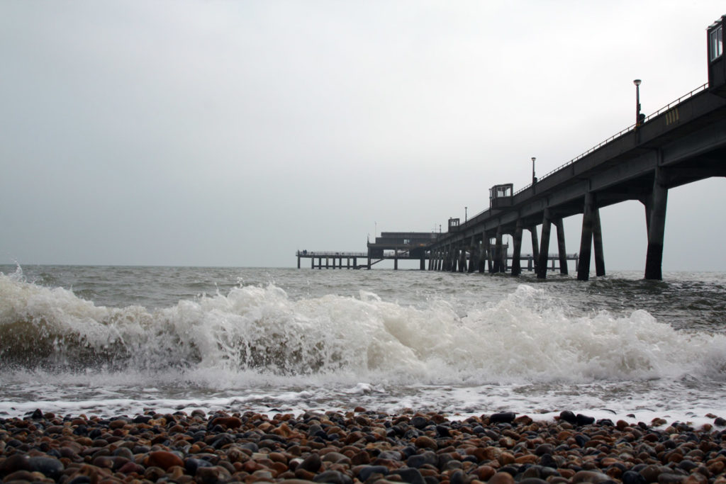 The Pier and Beach in Deal, Kent