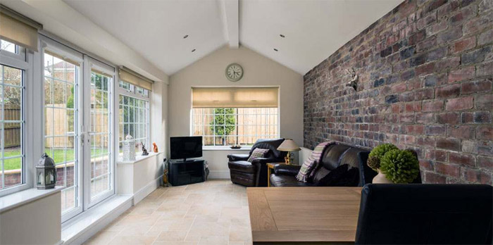 PA Hollingworth | Example of a Painted and decorated house extension in Kent